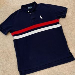 POLO by Ralph Lauren men's navy blue polo size L